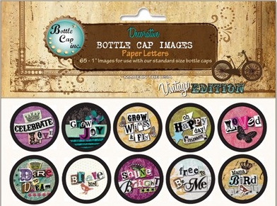Bottle Cap Inc. Bottle Cap Images - Paper Letters