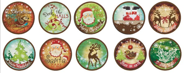 Bottle Cap Inc. Bottle Cap Images Christmas Santa Baby