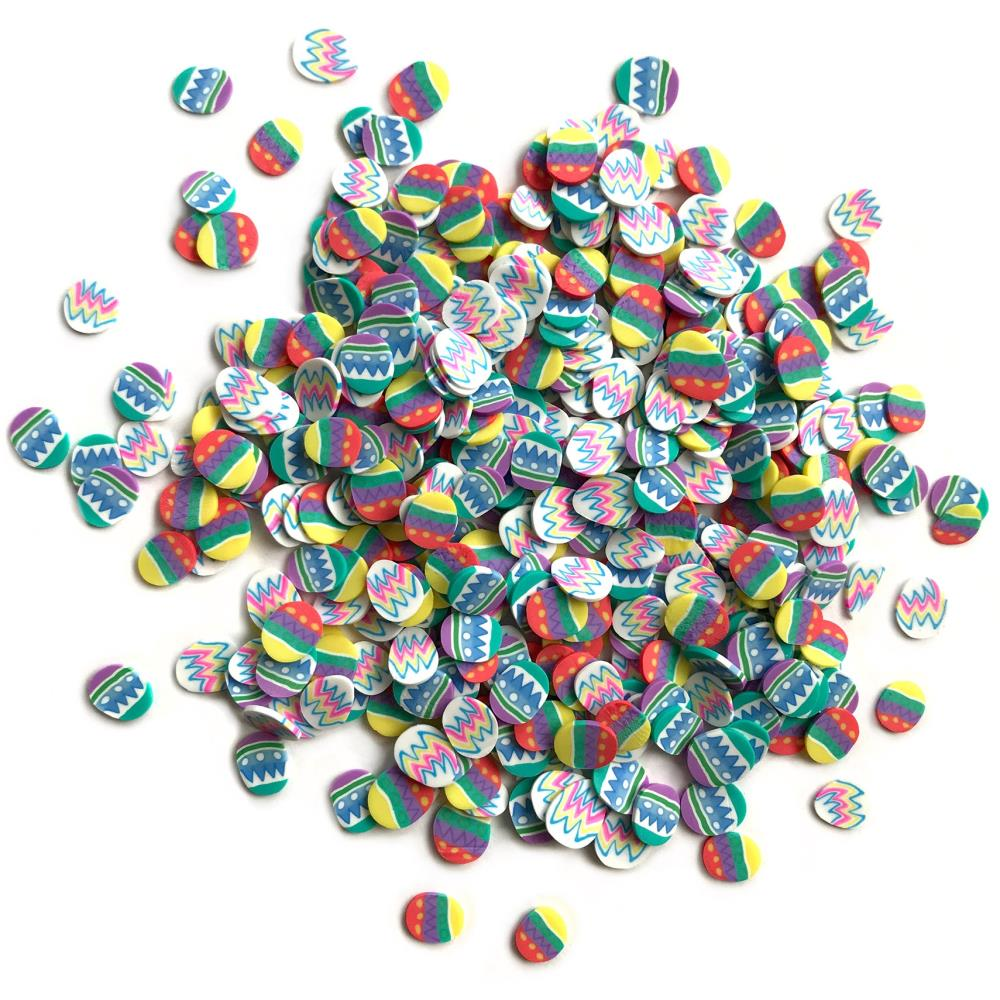 *NEW Buttons Galore Sprinkletz Embellishment - Easter Eggs