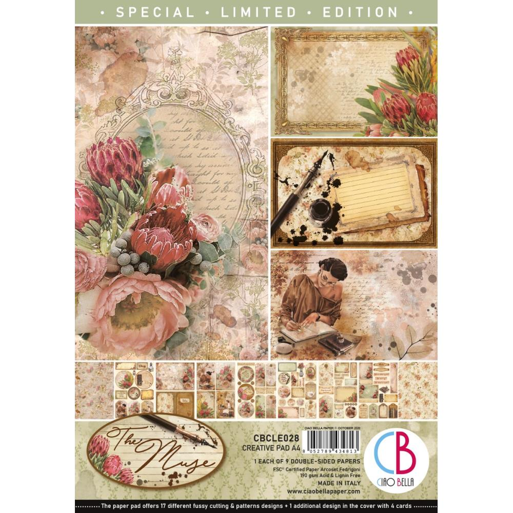 Ciao Bella Double-Sided 8 1/3 x 11 3/4 Creative Pack - The Muse