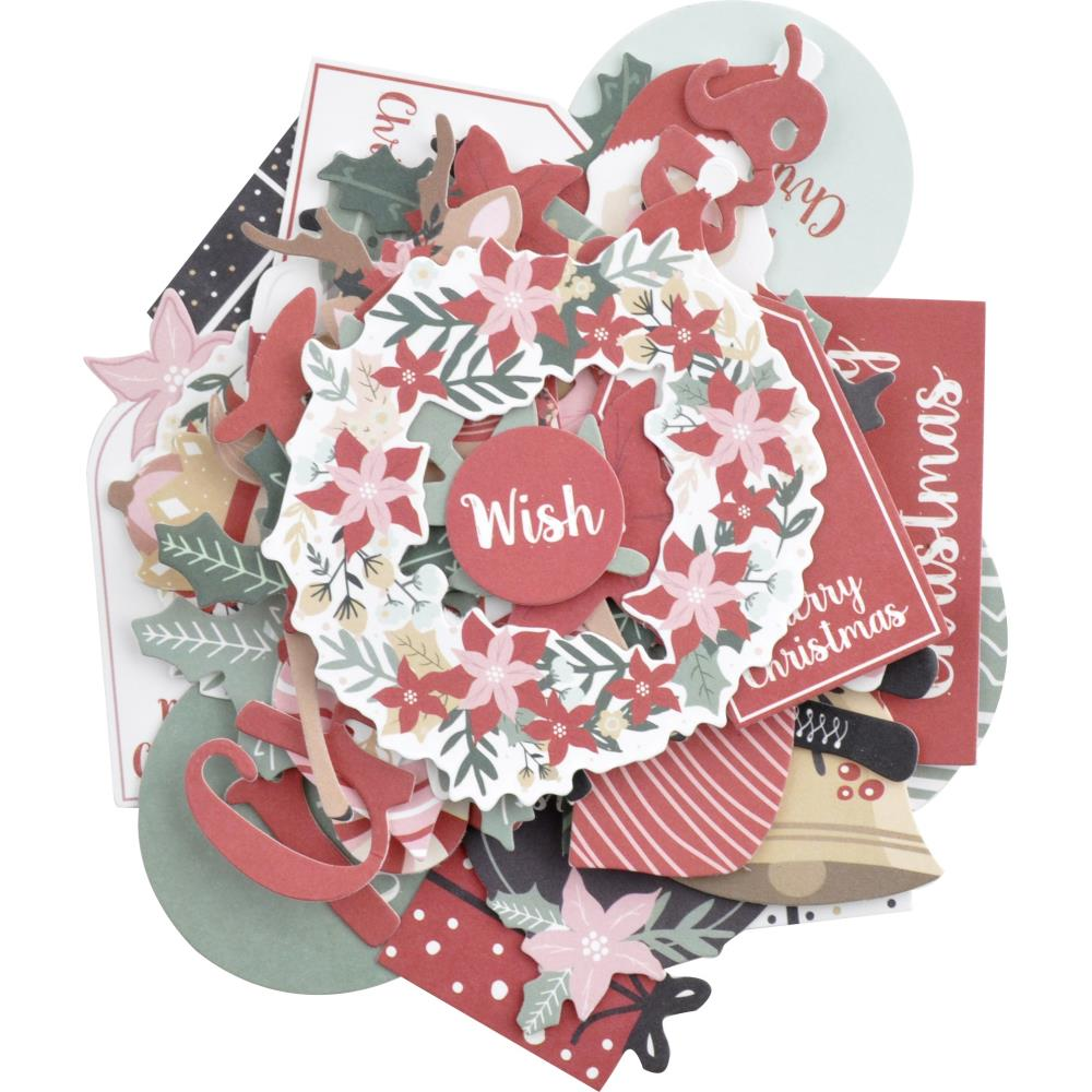 Kaisercraft Peppermint Kisses Collection - Die Cut Cardstock