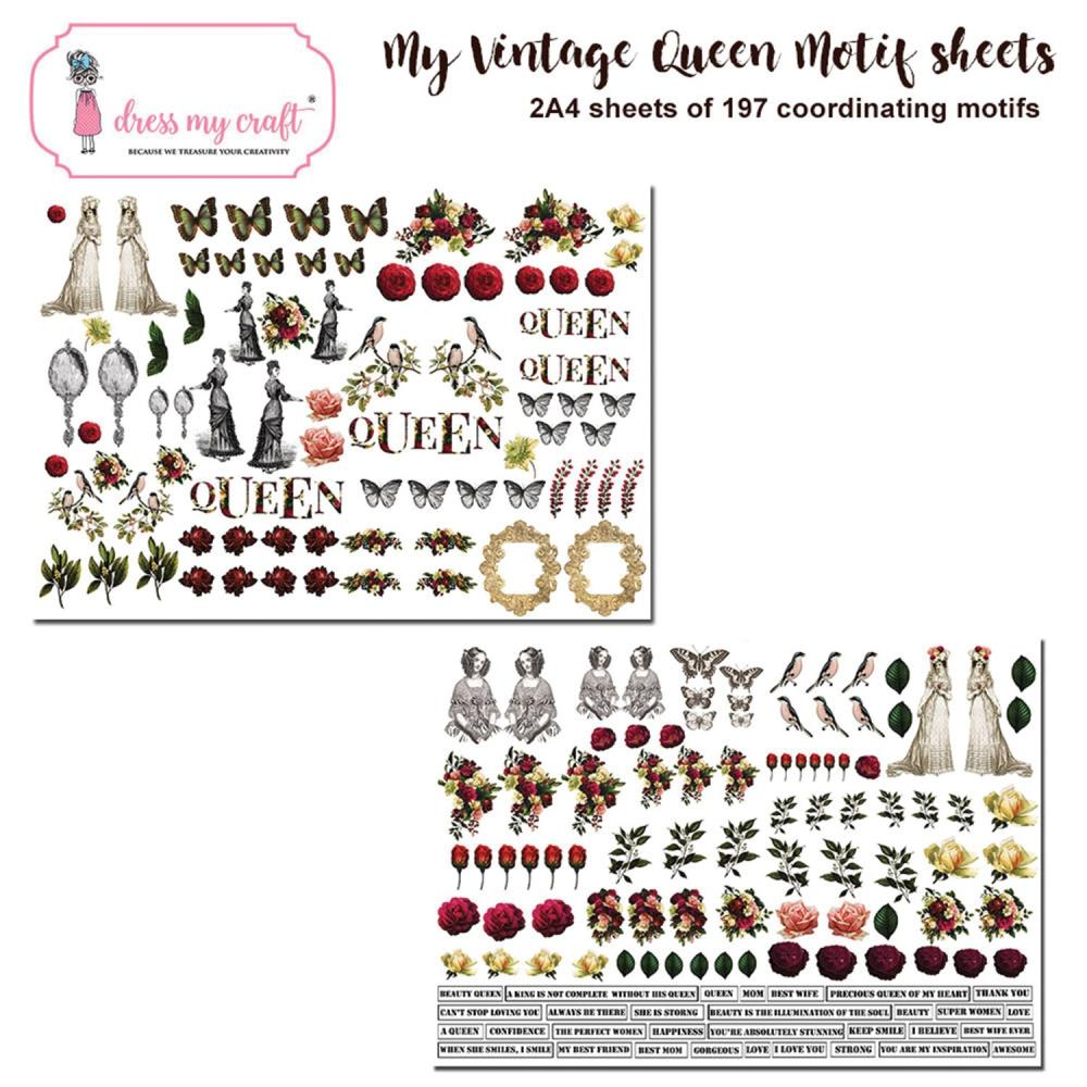 *NEW Dress My Craft My Vintage Lady Image Sheets
