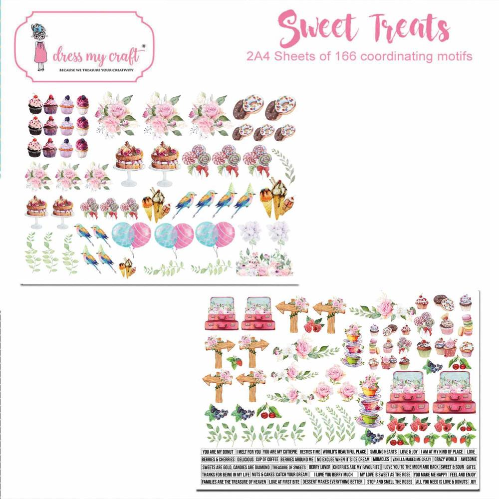*NEW Dress My Craft  Sweet Treats Image Sheets
