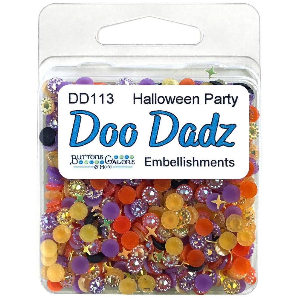 *NEW Buttons Galore Doo Dads - Halloween Party Embellishments
