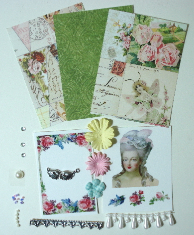 Artist Trading Card Kit of the Month - Mar 2013 Marie Antoinette
