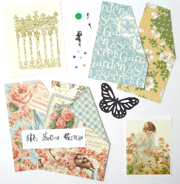 Artist Trading Card Kit of the Month - Sept. 2013 Secret Garden
