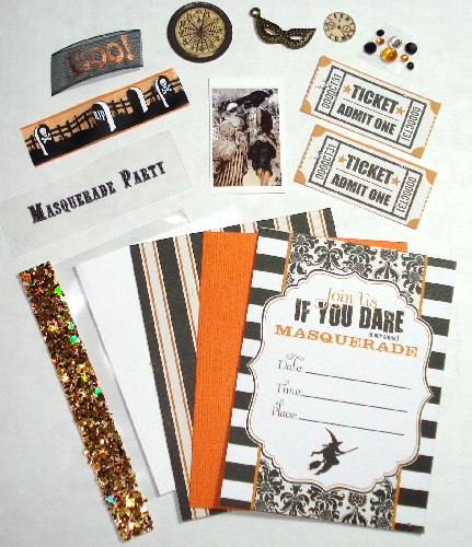 Artist Trading Card Kit of the Month - October 2013 Masquerade