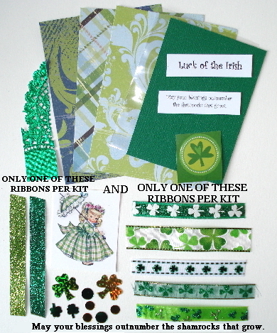 Artist Trading Card Kit of the Month - March 2014 St. Patty's