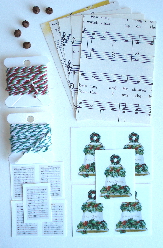 ATC Christmas Artist Trading Card Kit - Jingle Bells