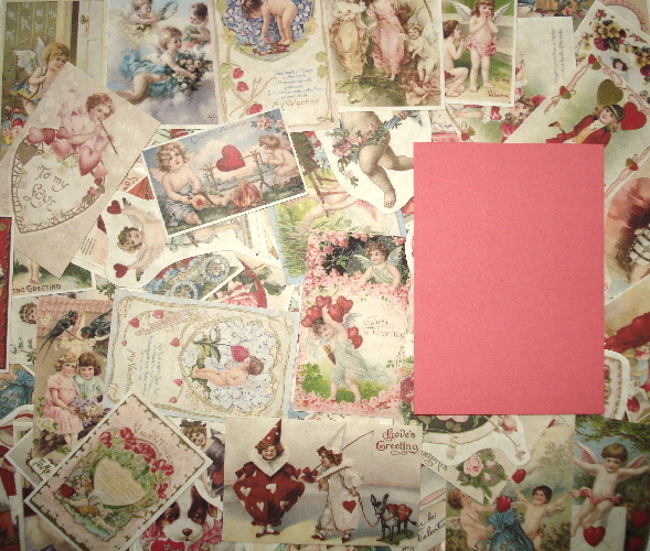 *NEW 25 Vintage Valentine Ephemera Reproductions