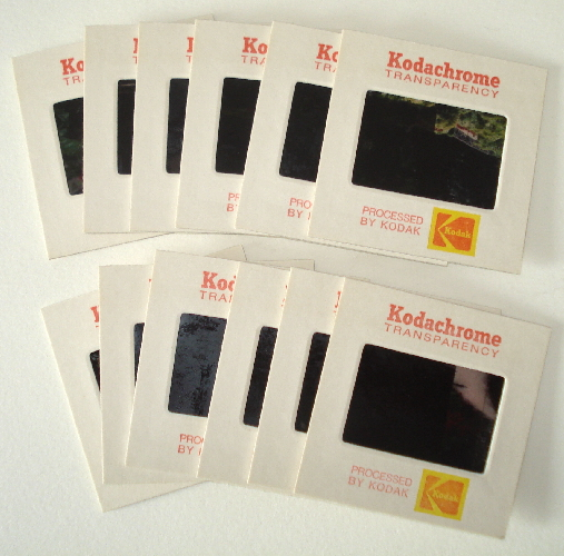 *NEW Vintage Kodak 35mm Photo Slides in Cardboard
