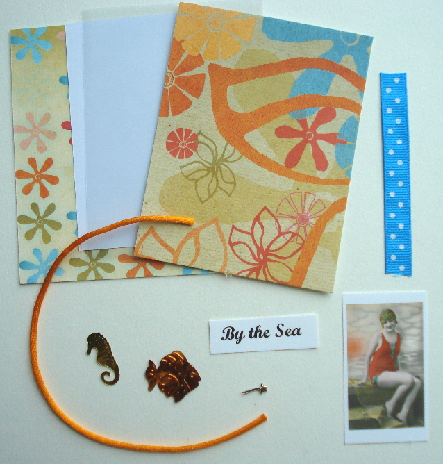 Artist Trading Card Kit of the Month - Aug. 2009 By the Sea