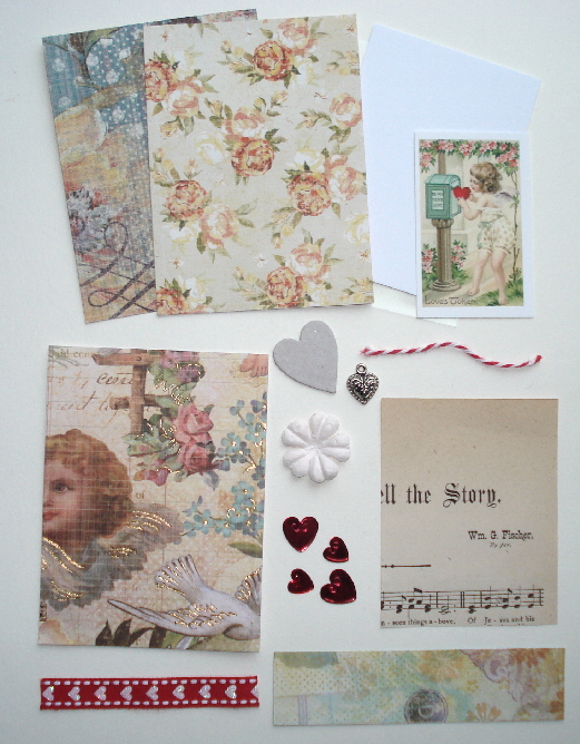 Artist Trading Card Kit of the Month - February 2012 Valentine