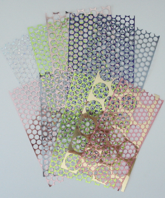 Punchinella Sequin Waste Stencils/Masks - 10 Pcs. Each 5 Inches