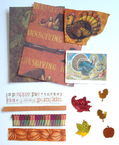 Artist Trading Card Kit of the Month - November 2009 Thanksgivin