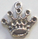 Crown - Silver Medium Size 5-Pointed Fancy Crown