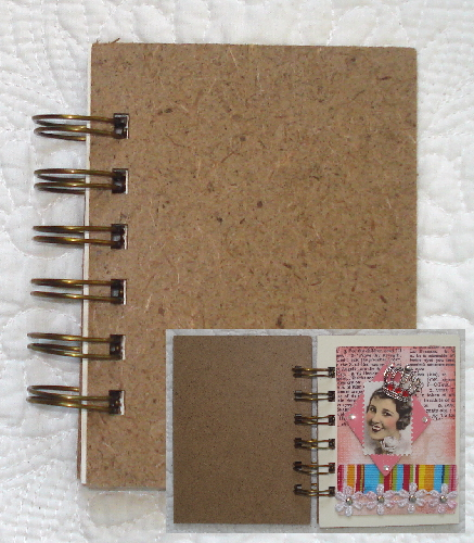 Artist Trading Card Chipboard Album - 3 in. x 4 in. w/ 10 Pages