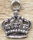 Crown - Silver Flat Queen's Crown