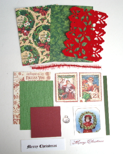 Artist Trading Card Kit of the Month - Dec. 2016 Christmas