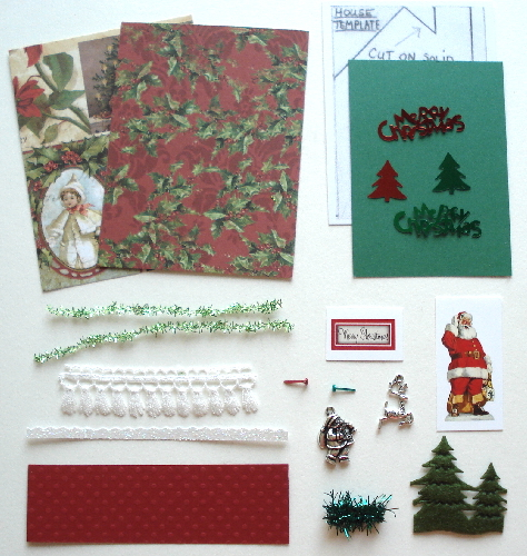 Artist Trading Card Kit of the Month - December 2018 Christmas