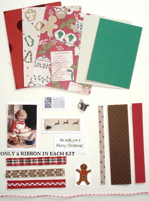 Artist Trading Card Kit of the Month - December 2019 Christmas