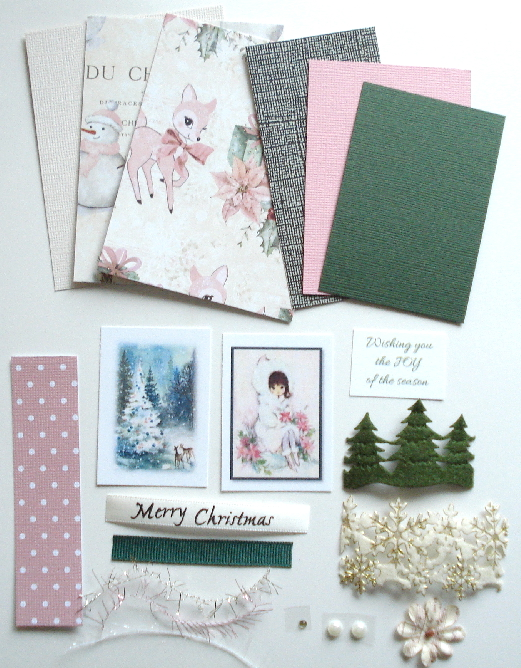 Artist Trading Card Kit of the Month - December 2020 Christmas
