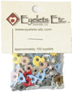 Eyelets Etc. Beach Shaped Eyelet Assortment
