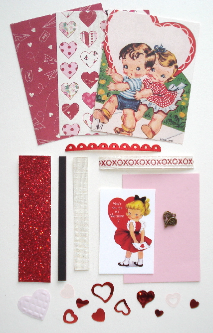 Artist Trading Card Kit of the Month - February 2017 Valentine
