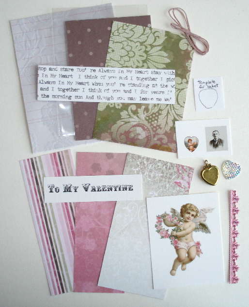 Artist Trading Card Kit of the Month - February 2015 Valentine