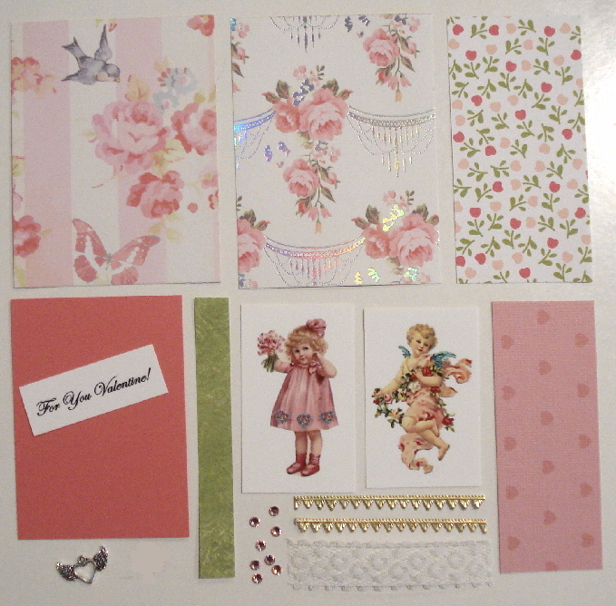 Artist Trading Card Kit of the Month - February 2018 Valentine