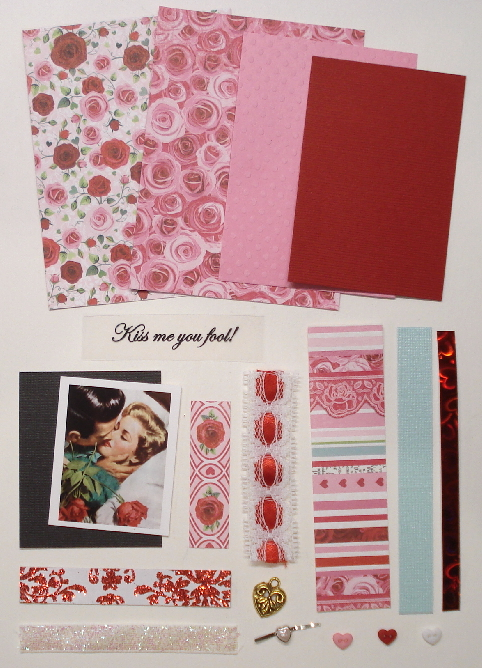 Artist Trading Card Kit of the Month - February 2020 - Valentine