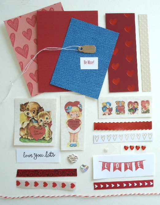 Artist Trading Card Kit of the Month - February 2021 - Valentine
