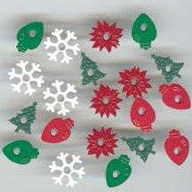 The Happy Hammer Christmas Eyelets - 20 Pcs.
