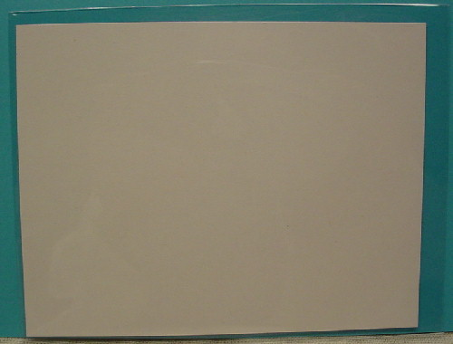 "25 - Clear Greeting Card Sleeves 4 5/8"" x 5 7/8"" w/ Adhesive"