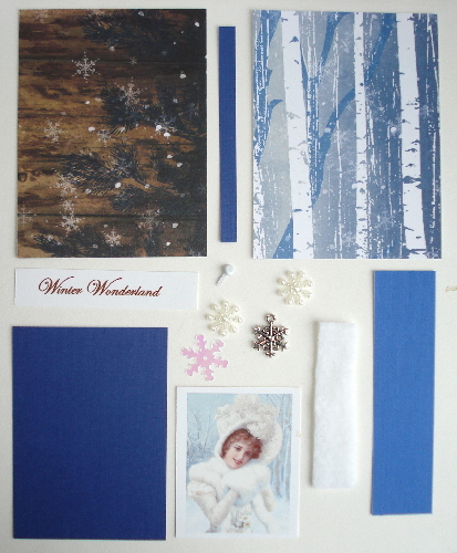 Artist Trading Card Kit of the Month - January 2016 Winter