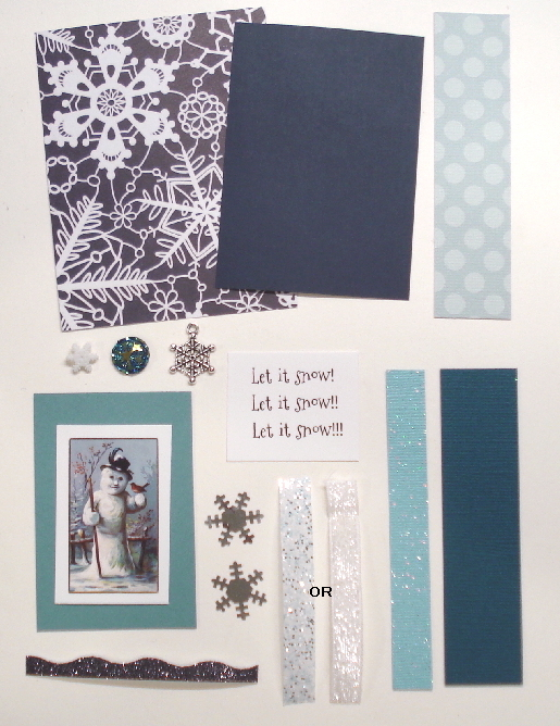 Artist Trading Card Kit of the Month - January 2019 Let It Snow