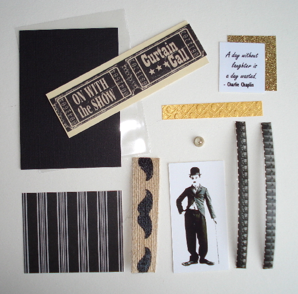 Artist Trading Card Kit of the Month - June 2015 Charlie Chaplin
