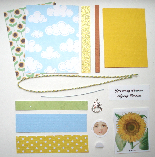 Artist Trading Card Kit of the Month - June 2016 Sunshine