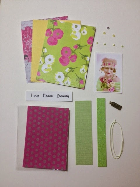 Artist Trading Card Kit of the Month - June 2014 Floral Beauty