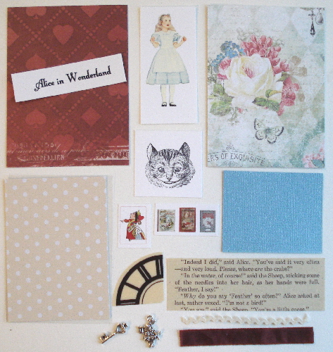 Artist Trading Card Kit of the Month - May 2016 Alice in Wonder