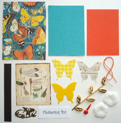 Artist Trading Card Kit of the Month - May 2017 Butterflies