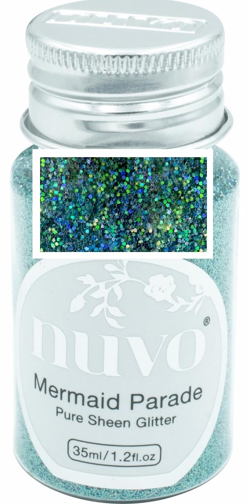 *NEW Nuvo Pure Sheen Glitter - Mermaid Parada