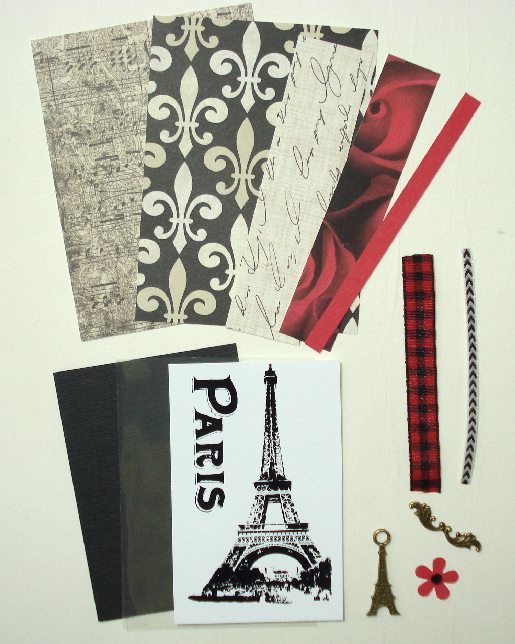 Artist Trading Card Kit of the Month - November 2014 Paris