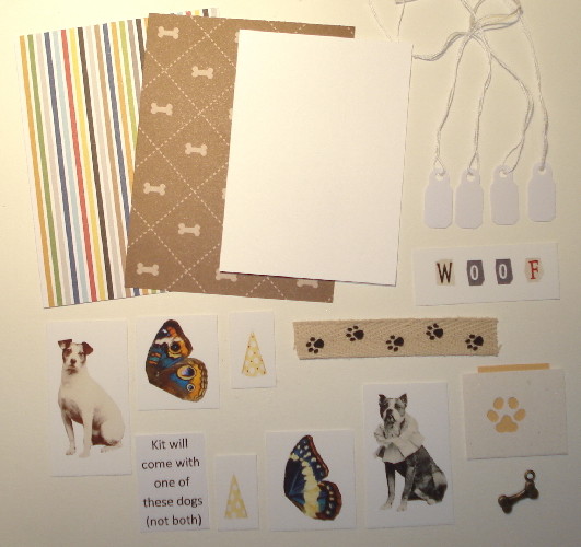 Artist Trading Card Kit of the Month - November 2015 Dog Themed