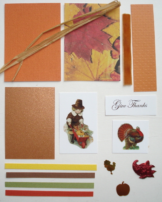 Artist Trading Card Kit of the Month - November 2017 Thanksgivin