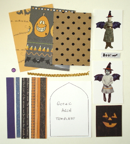 Artist Trading Card Kit of the Month - October 2014 Halloween