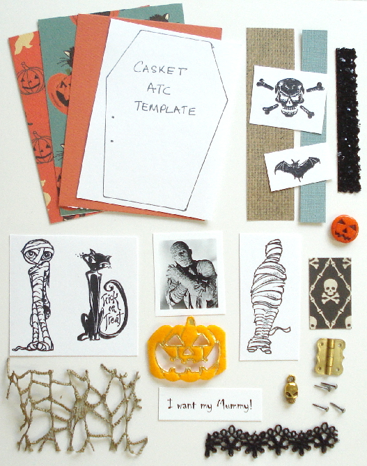 Artist Trading Card Kit of the Month - October 2020 Halloween