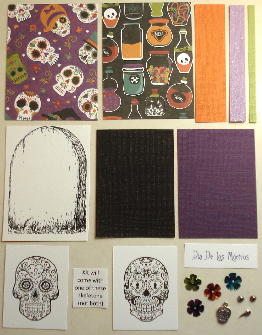 Artist Trading Card Kit of the Month - October 2017 Halloween