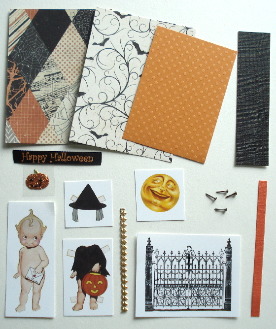 Artist Trading Card Kit of the Month - October 2018 Halloween