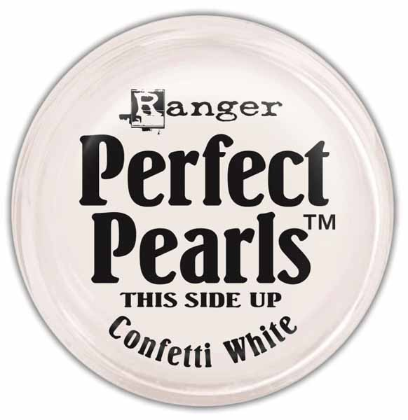 Ranger Perfect Pearls - Confetti White